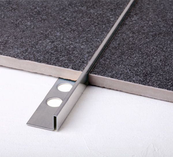 Профиль Juliano Tile Trim SB018-1S-12H Silver