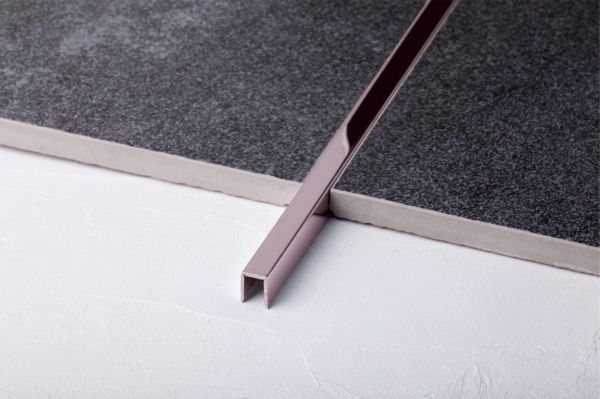 Профиль Juliano Tile Trim SUP083 Rose Gold