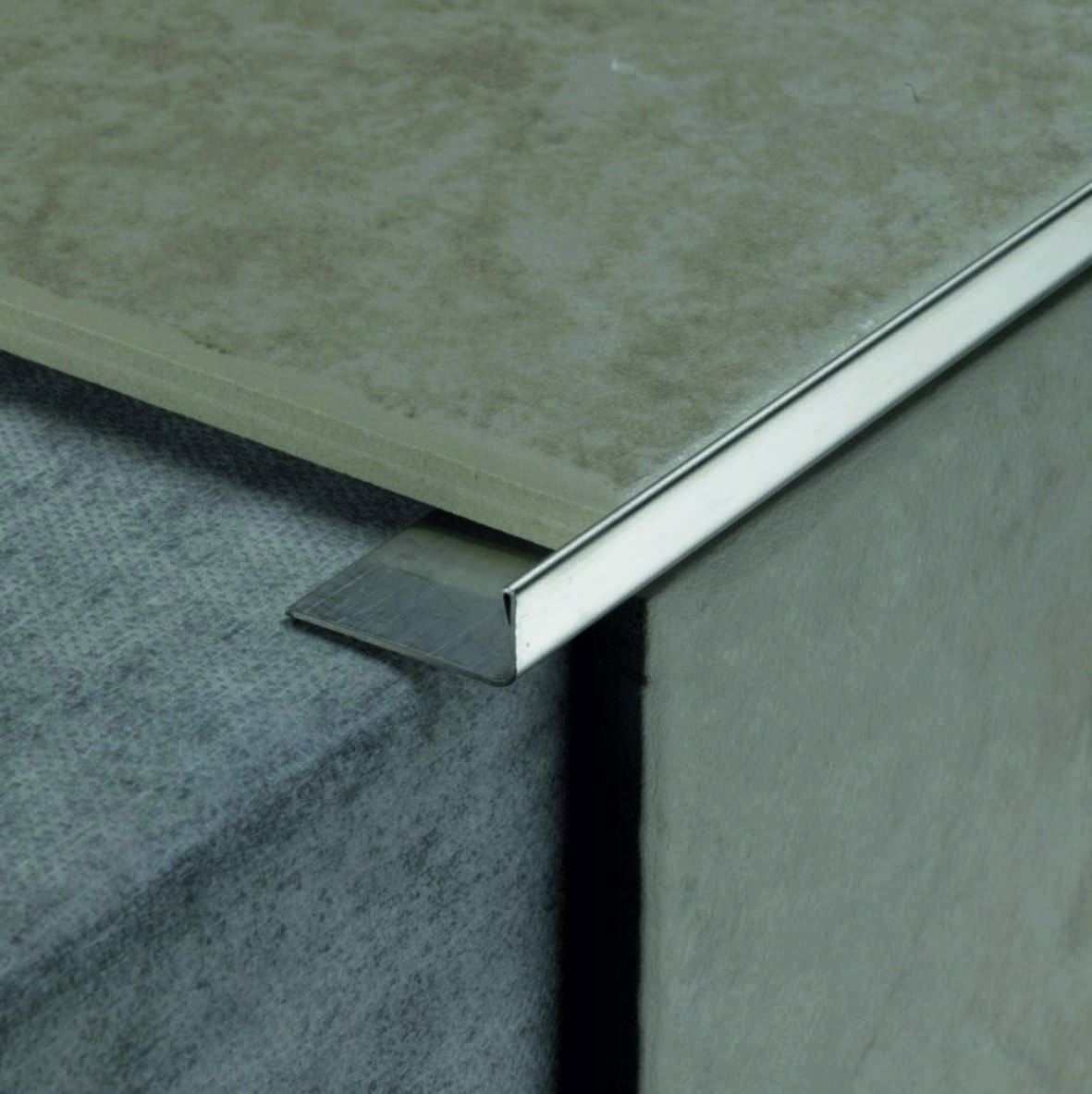 Профиль Juliano Tile Trim SL026-1S Silver (толщина металла 0,8мм) - Фото интерьеров №4