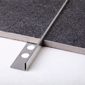 Профиль Juliano Tile Trim SB018-1S-10H Silver