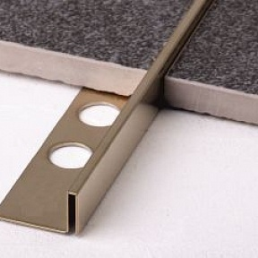 Профиль Juliano Tile Trim SB018-2S-12H Gold