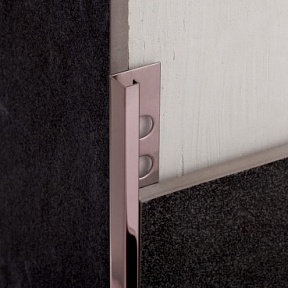 Профиль Juliano Tile Trim SBP024-3S-12H Rose Gold