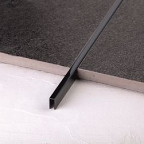 Профиль Juliano Tile Trim SUP05-4S-10H Black (2700мм)